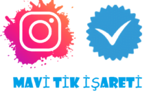 instagram mavi tik işareti