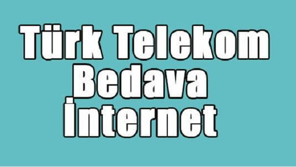 Photo of Türk Telekom Bedava İnternet Nasıl Yapılır?