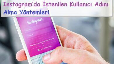 Instagram'da İstenilen Kullanıcı Adını Alma Yöntemleri