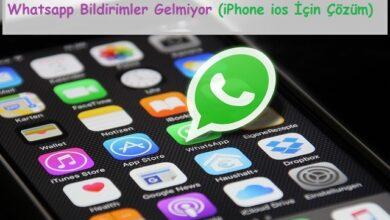 Whatsapp Bildirimler Gelmiyor (iPhone ios İçin Çözüm)