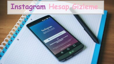 instagram hesap gizleme 1