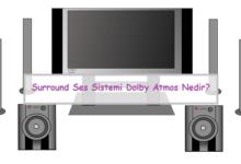 Surround Ses Sistemi Dolby Atmos Nedir