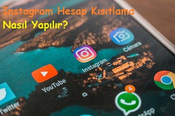 Instagram Hesap Kisitlama Nasil Yapilir 2