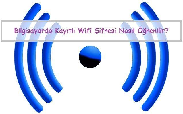 wifi şifresini öğrenme
