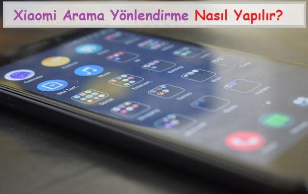 Xiaomi Arama Yönlendirme