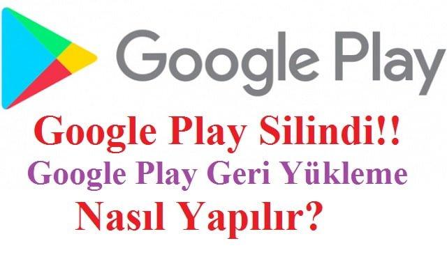 Google Play yükleme