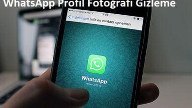 WhatsApp Profil Fotoğrafı Gizleme