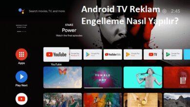 android tv reklam engelleme