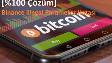 binance illegal parameter