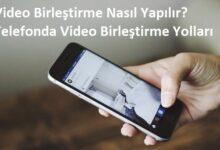 video birleştirme