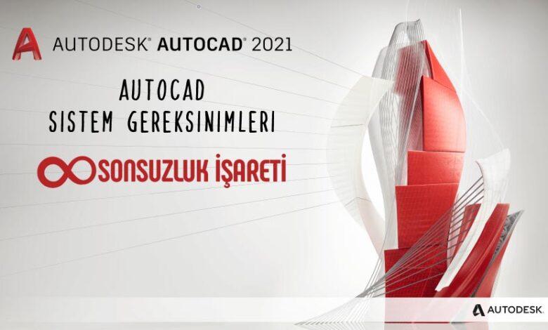 AutoCad Sistem Gereksinimleri