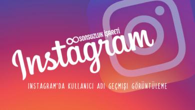 Instagram'da Kullanıcı Adı Geçmişi Görüntüleme