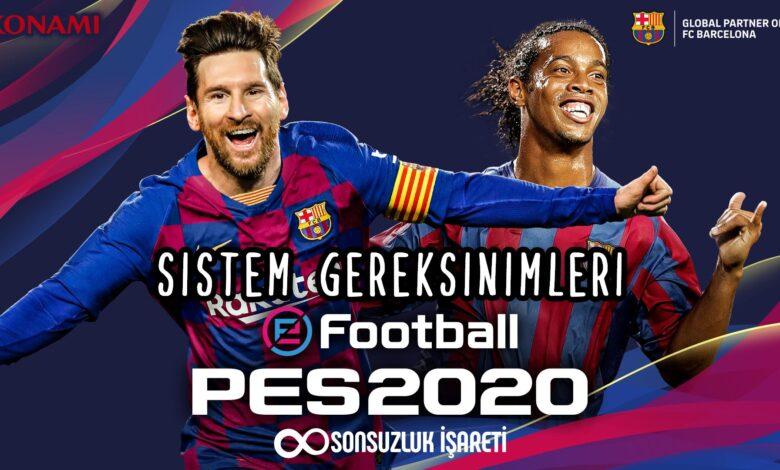 PES 2020 Sistem Gereksinimleri