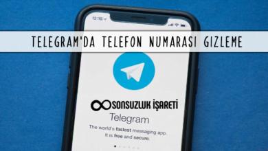 Telegram'da Telefon Numarası Gizleme