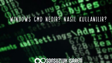 Windows CMD Nedir?