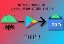 APK vs AAB Karşılaştırma