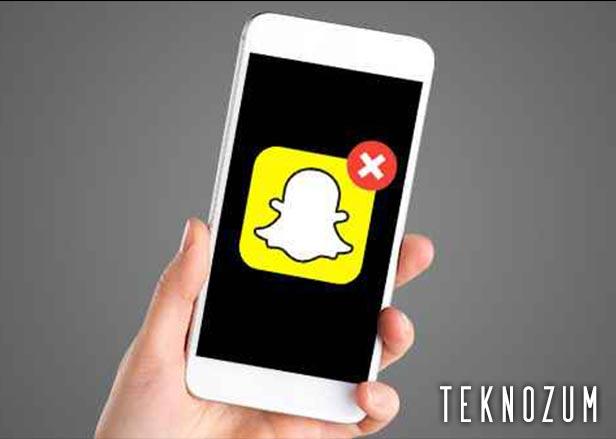Snapchat Hesap Silme